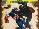 Tales of Suspense 98. Classic Black Panther. Captain America. Marvel. FN/VF
