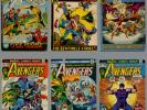 AVENGERS LOT 36 COMICS #101 THROUGH #152 IRON MAN THOR HULK CAPTAIN AMERICA