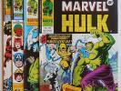 MIGHTY WORLD OF MARVEL  #197,198,199, 200 - 1st Wolverine - UK Marvel - Hulk 181