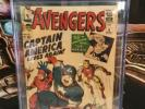 Avengers #4. 1964. Cgc. 3.5. 1st. Siver Age Captain America.