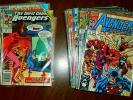 Lot of 64 comics: West Coast Avengers #42-101 near complete Byrne/Ryan Iron Man