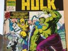 Mighty World Of Marvel 197/198/199 1st UK Wolverine 1976 Hulk Wendigo