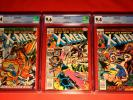3 X-MEN ISSUE LOT #'s 108, 110, 112 CGC 9.4 NM / 9.6 NM+ UNCANNY MARVEL GROUP