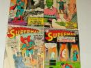 % 1960'S SUPERMAN COMIC BOOK COLLECTION 194, 167, 174, 195  LOT Z-2