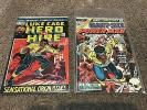 LOT 60 LUKE CAGE, HERO FOR HIRE/POWER MAN #1,4-100 IRON FIST COMICS GIANT-SIZE