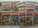Mighty World of Marvel comic #1, 3-20 (1972-73) FN (1-8 coupon cut) (phil-comics