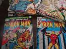 Iron Man Lot-66,70,84,87,93,95,100,120,125,134-136,138,141,144,146-148,200,more