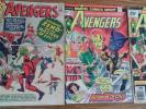 The AVENGERS 1964 number 6 comic & AVENGERS 139 and AVENGERS 150 comic rare ZEMO