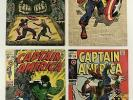 Captain America Lot 101 - 379 #103 109 110 118 Falcon Hydra Run Lot Set