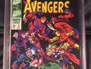 The Avengers Special #2 White Pages New Avengers Vs. Old Avengers Old Label