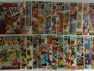 Avengers #s 77 - 120 Vision Iron Man Thor Lot Set Run (27 comics) 92 93