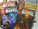 The Mighty World of Marvel - Series 3 lot (Including rare issue #54 Ghost rider)