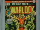 1978 MARVEL STRANGE TALES #178 WARLOCK 1ST APPEARANCE MAGUS CGC 9.4 WHITE BOX1