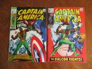 Captain America  lot # 117 - 118 1st & 2nd app. Falcon Key  Hot new series