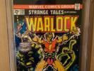 Strange Tales #178 CGC 8.5 1st Magus White Pages Marvel Comics 1975 Warlock
