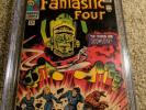 Fantastic four 49 4.0 CGC first app of Galactus