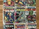 Iron Man comic book lot 104-137 (9 Issues)