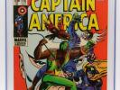 CAPTAIN AMERICA # 118 CGC 9.0 - 1969 2nd appearance of FALCON and REDWING - KEY