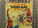 AVENGERS #11 Marvel Comics 1964 CGC 6.5 Early Spider-Man Appearance