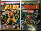 MARVEL: STRANGE TALES 178-181/POWER OF WARLOCK 2, 8, 10, 11, 13 THOR Film cameo?