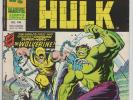 Mighty World Of Marvel 198 Incredible Hulk #181 1st APP WOLVERINE Marvel UK 1977