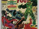 Fantastic Four Annual #5 Marvel Silver '67 W: Lee A: Kirby First App Psycho-Man