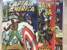 Captain America 117 118 119; First 3 Appearances of Falcon