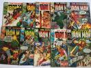 The Invincible Iron Man 15 17 18 19 21 22 24 25 26 29 GD-VG+ Range 1969-1970