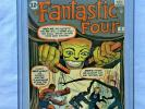 Fantastic Four #8 Cgc 7.0 First Appearance Puppet Master 1st App White Pages,NR