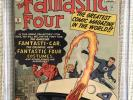 FANTASTIC FOUR # 3 CGC 8.o 1st FF Costumes / Car 2,4,5  Stan Lee Kirby Avengers