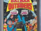 BATMAN AND THE OUTSIDERS #1 (DC 8/83) CGC 9.8 WHITE PAGES (2ND APP OF OUTSIDERS)