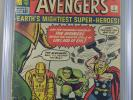 Avengers #1 CGC 3.0  1st Appearance of the Avengers Off white pages