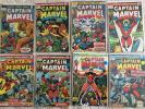 Bronze Lot/16  CAPTAIN MARVEL Between #14 and 57 includes #26 NM- THANOS KEY