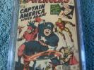 The Avengers #4 Cgc 6.0 First Silver Age Captain America