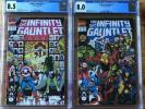 Infinity Gauntlet #2 CGC 8.5 & #3 CGC 8.0. Thanos, Avengers And More New Cases