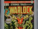 1975 MARVEL STRANGE TALES #178 1ST APPEARANCE MAGUS WARLOCK BEGINS CGC 9.0 OW-W