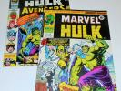 2x MIGHTY WORLD OF MARVEL no.198 199 1976 Incredible Hulk 181 1st app WOLVERINE