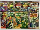 MARVEL SUPER-HEROES #12 + CAPTAIN MARVEL # 3 10 14 15 31 33 50 57 58 FREE SHIP