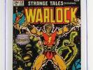 Strange Tales #178 -NEAR MINT- CGC 9.0 VF/NM -Marvel 1975- ORIGIN of Warlock