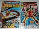 IRON-MAN #121,122  NICE NM 9.2'S  1979