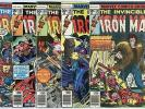 Iron Man #101 - 117  Complete Run  avg. VF/NM 9.0  Marvel  1977  No Reserve