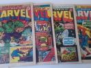 MIGHTY WORLD OF MARVEL COMICS 2, 3, 4, 5  FANTASTIC FOUR # 1 HULK # 1 SPIDERMAN