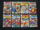 Iron Man comic lot - 1977 #101 to #200 complete and highgrade keys