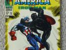 Marvel Tales of Suspense  Captain America & Iron Man #98 featuring Black Panther