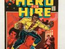 Luke Cage Hero for Hire #1 Marvel Comics 1972 Origin Issue Vintage Comic Book