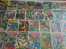 30 HI GRADE Marvel Silver Lot Iron Man 2 Fantastic Four 100 Captain America