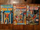 Marvel The Invincible Iron Man Lot of 9 Bronze 22 74 81 82 83 97 98 99 100