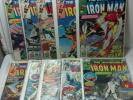 "Marvel 10pk *D* ""Invincible Iron Man"" #115,116,117,118,119,-,121,122,123,124,125"