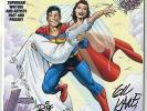 Superman: The Wedding Album #1 NM+ 9.6  DF Signed & #d Ltd. Edition  DC  1996