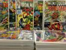 Iron Man 40 issue lot - 24,35,40,115,117,121,122,123,125,130,131,132, & more